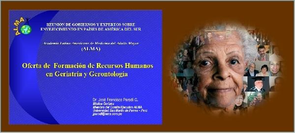 IFormação de Recursos Humanos em Geriatria e Gerontologia: quantos, como e em quanto tempo?